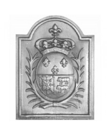 Plaque de cheminée Armes de Navarre