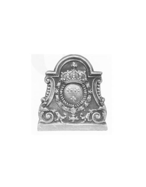 Plaque de cheminée Blason Decoupe