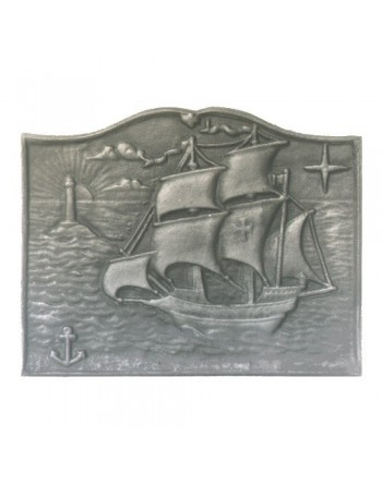 Plaque de cheminée Caravelle