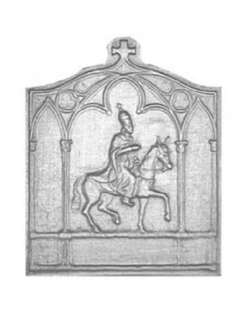 Plaque de cheminée Charlemagne