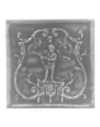 Plaque de cheminée Cupidon