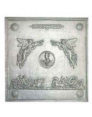 Plaque de cheminée Empire
