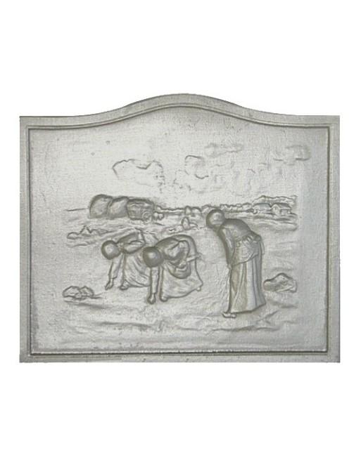 Plaque de cheminée Glaneuse
