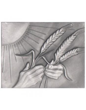 Plaque de cheminée Grain de blé