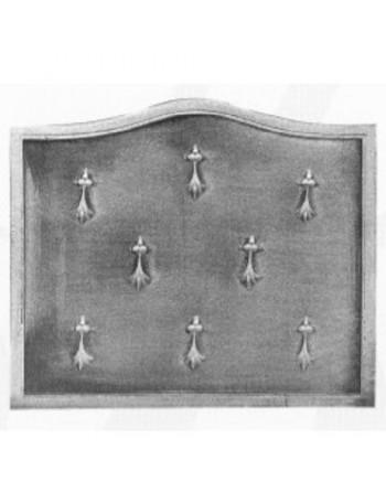 Plaque de cheminée Hermines