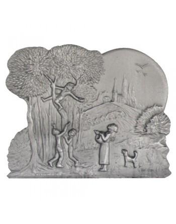Plaque de cheminée Jeux d'Enfants
