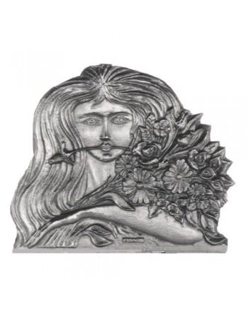 Plaque de cheminée La Fille au Bouquet