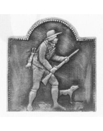 Plaque de cheminée Le Chasseur