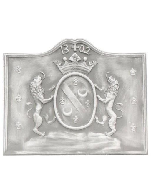 Plaque de cheminée Lions du Périgord