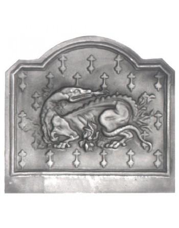 Plaque de cheminée Salamandre