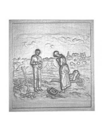 Plaque de cheminée Angelus PM