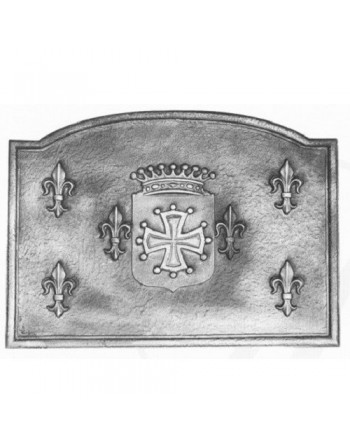 Plaque de cheminée Croix du...