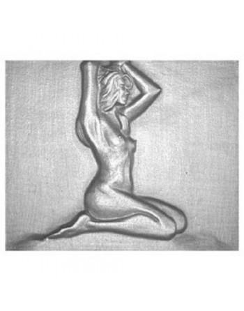 Plaque de cheminée Femme