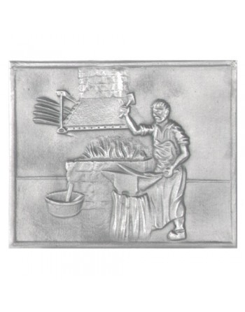 Plaque de cheminée Le forgeron