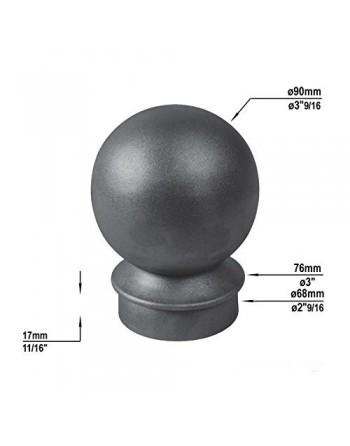 Gusseisenkugel D 90mm