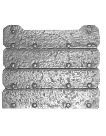 Kaminplatte Rustikal ohne...
