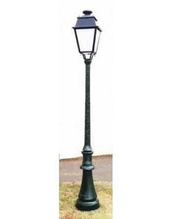 Lampadaire en fonte 265 cm